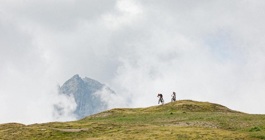 Biken in St. Moritz