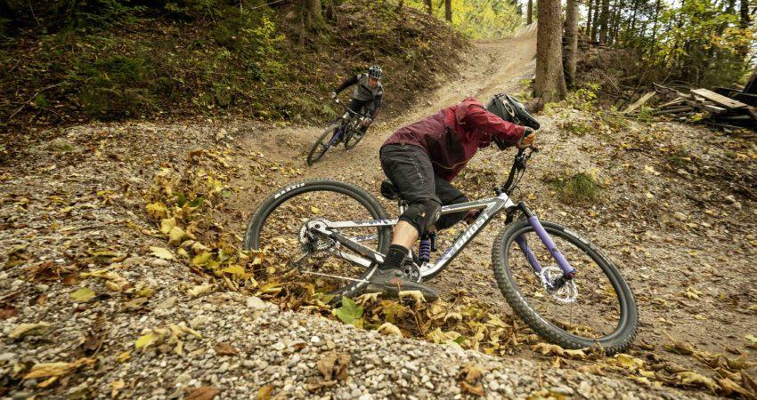 Mountainbike Fahrtechniktraining